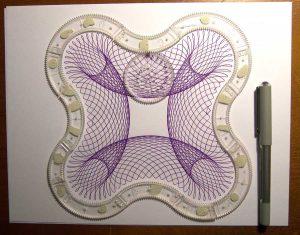 Super Spirograph cloverleaf pattern
