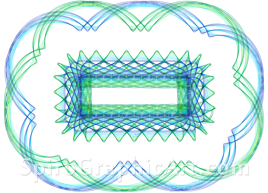 super spirograph  rectangles and squares
