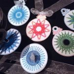 Spirograph ornaments by Angelika