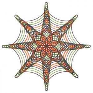Color variation on Wheel 84 design